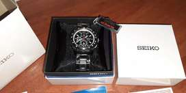 Reloj SEIKO cronógrafo nuevo original no orient tommy citizen casio swiss wenger guess mk