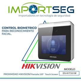Terminal Wifi Reconocimiento Facial Ultra Rápido Ds-k1t331w