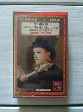 Cassette Joaquin Rodrigo Concierto De Aranjuez Ángel Romero - Andre Previn