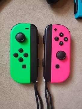 Joy Cons de Nintendo Swich
