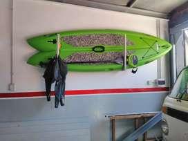 Tabla de paddle surf + remo+ pita+ traje oneil 3.2 talle L.