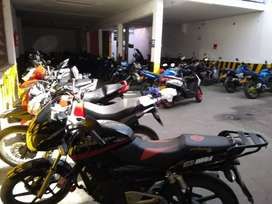 Venta de prima de parqueadero de motos