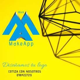 Diseño de logo con manual y material POP