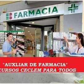Curso Auxiliar de Farmacia Beca