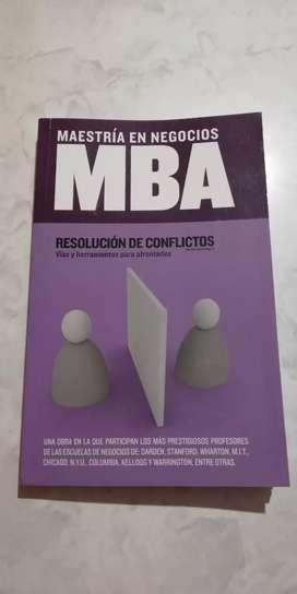 MBA Negocios. Resolución de conflictos