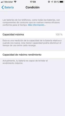 Se vende iphone 6 de 32gb estado 9/10