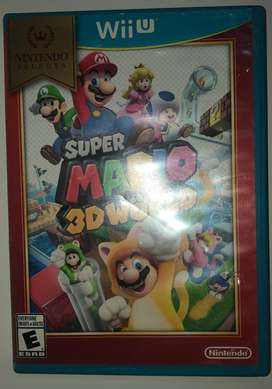 Juego WiiU Super Mario 3D World