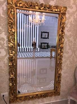 Espejo Greco Dorado Vintage