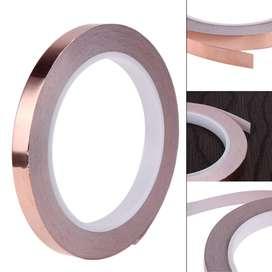 Cinta de cobre Adhesivo de 20m 6mm