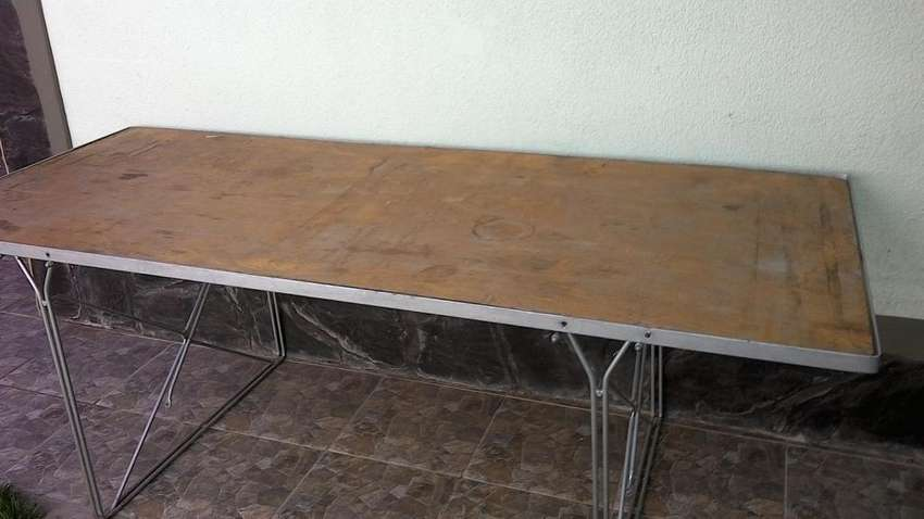 Mesa para patio de invierno 0