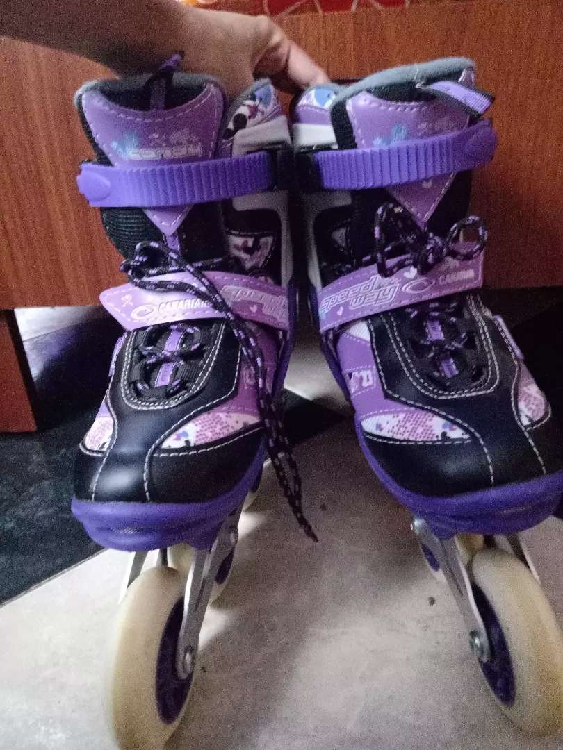 Patines semiprofesionales canariam Speed way candy 0