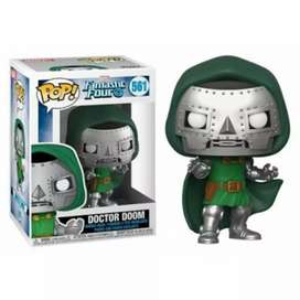 Funko Pop Doctor Doom Los 4 Fantásticos Marvel