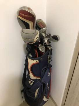 Palos de golf taylormade burner plus
