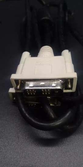 Cable Dvi  dvi.  original  nuevos.. obsequio cable de poder