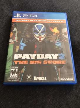 Payday 2 the big score ps4 fisico