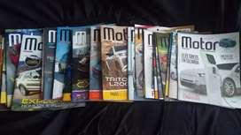 Colección revista Motor