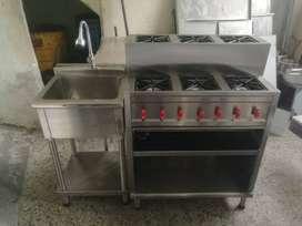 Cocinas-estufas, Industriales