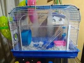 Se ve de jaula para hamster