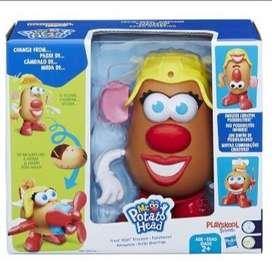 Señora cara de papa - Potato Head