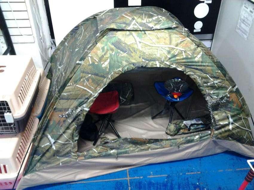 Carpa para Camping de 3 Personas. 0