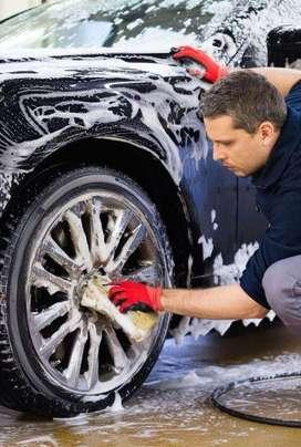 Lavado de auto y desinfección