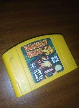 Donkey Kong 64 vídeo juego para nintendo 64