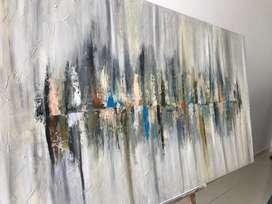 Vendo cuadro abstrato oleo sobre lienzo