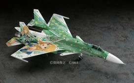 Avión Sukhoi Su-33 Flanker D Escala 1/72 Hasegawa Idolmaster