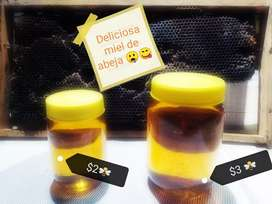 Deliciosa, nutritiva y saludable miel de abeja