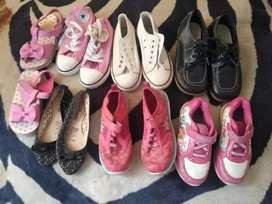 Zapatos para niña número 28y 29 todo en 60mil