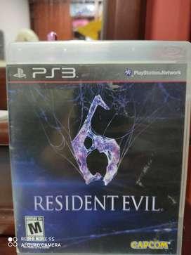 Residen Evil 6 para Play3