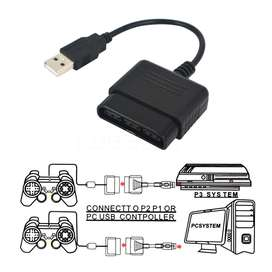 Conversor Adaptador Joystick De Ps2 Playstation 2 A Pc Usb