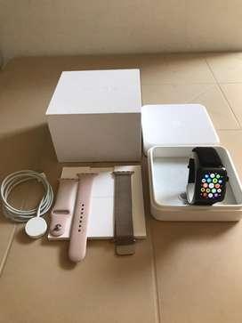 Apple watch serie 3 gps-celullar acero inoxidable