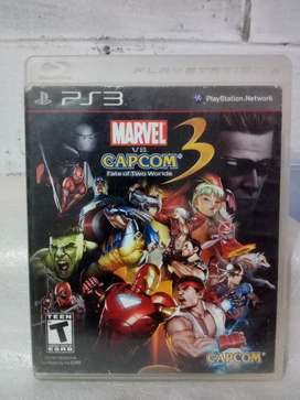 Vendo Marvel vs  Capcom 3 para PS3