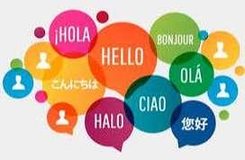 Clases de inglés, portugués, italiano y Francés