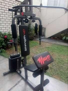 Para lo fitnes maquina de gimnasio
