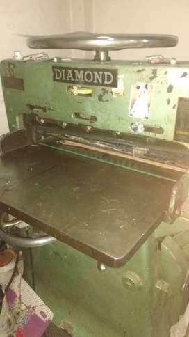 guillotina  semiautomatica