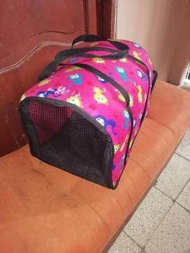 Bolsa Transportadora de Mascotas