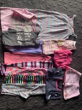 Lote de ropa para bebe 3-12 meses