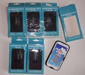 Lote 6 carcasas anticaidas CELULAR SAMSUNG S3 I9300 939 I9305 9308