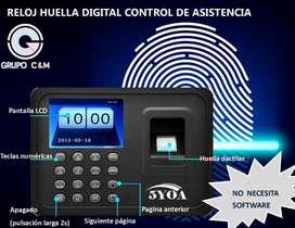 HUELLA DIGITAL CONTROL DE ASISTENCIA BIOMETRICO 5yoa