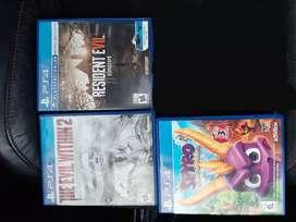 3 juegos de playstation 4 play 4