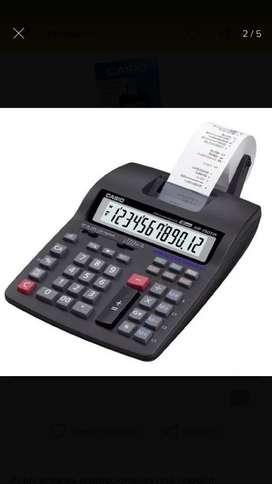 Sumadora Casio 12 Dígitos con Impresora