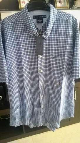 Camisa Tommy Hilfiger Clasica, Original, Nueva e Importada, Talla L