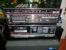 Amplificador aiwa japan deck para reparar