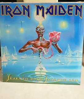 LP Vinilos Iron Maiden Nuevo Sellado