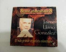CD de música colombiana de Jaime Llano González