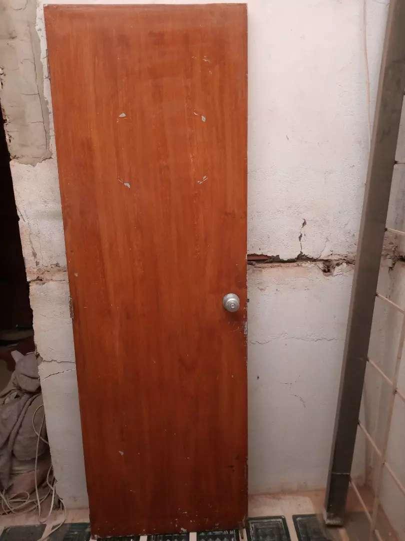 Puerta madera 0