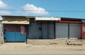 Vendo propiedad  de 10x20 2 locales  y garaje en montecristi