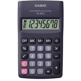 Calculadora Casio HL-815L De Bolsillo 8 Dígitos Porcentaje